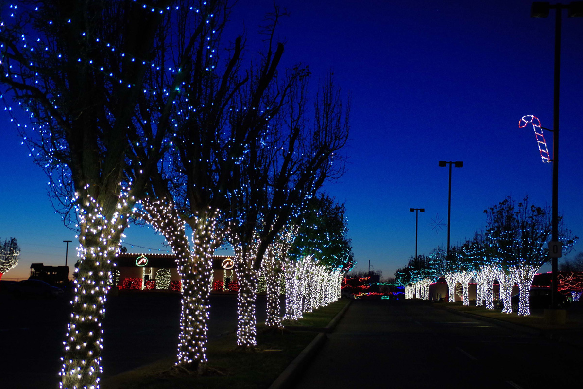 Festive and Fun at Rhema Christmas Lights Extravaganza