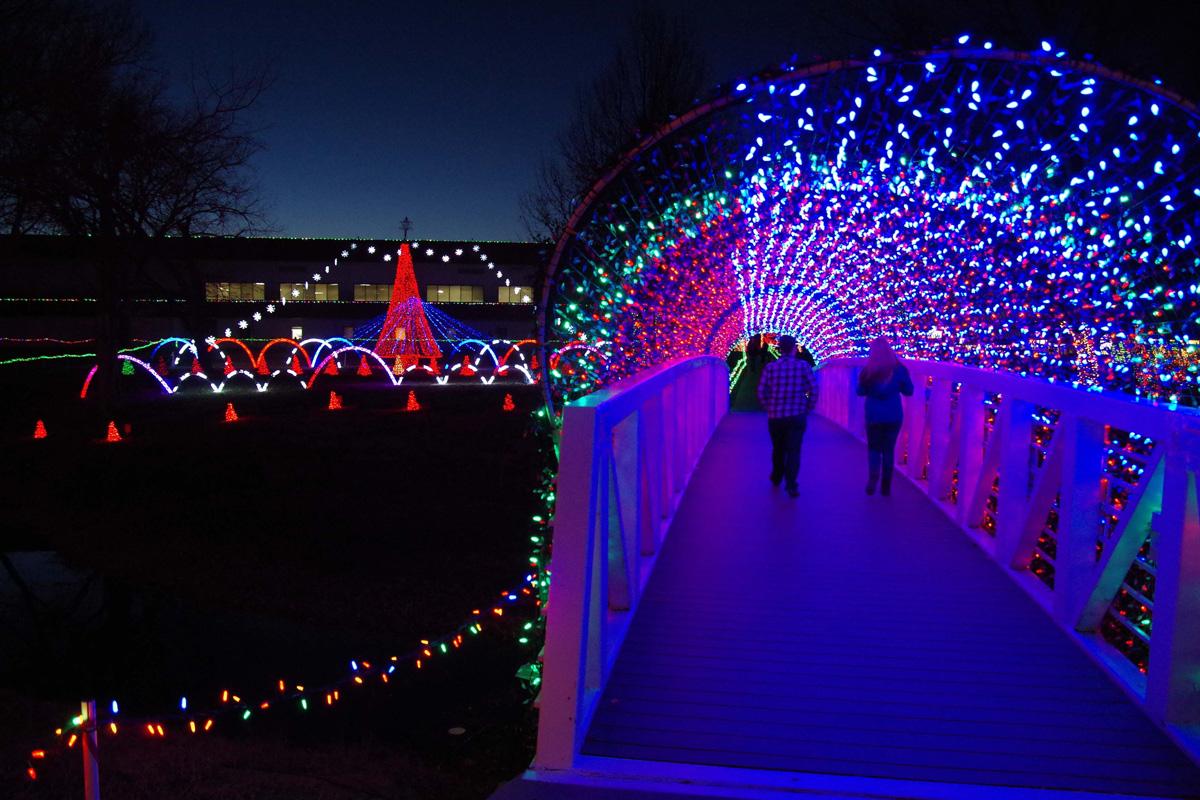 Rhema Christmas Lights 2020 Rhema Christmas Lights Famous Tunnel   Rhema Lights